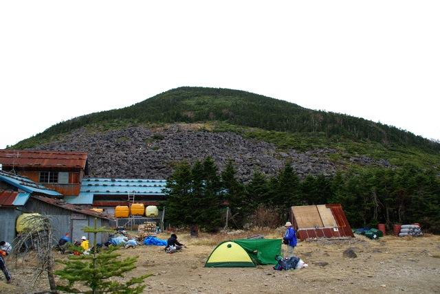 南八ヶ岳  西岳編笠山(平成21年10月24日)その2